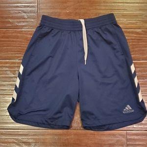 Adidas Athletic Navy Blue Shorts XL